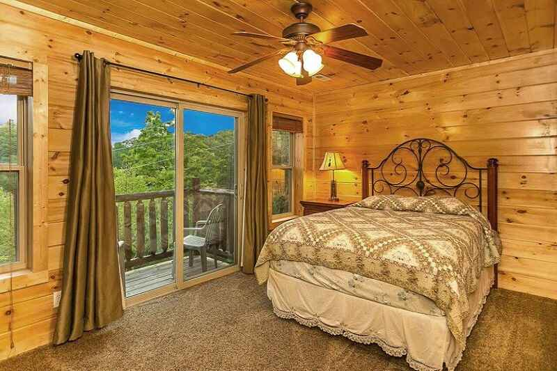 cabin main bed