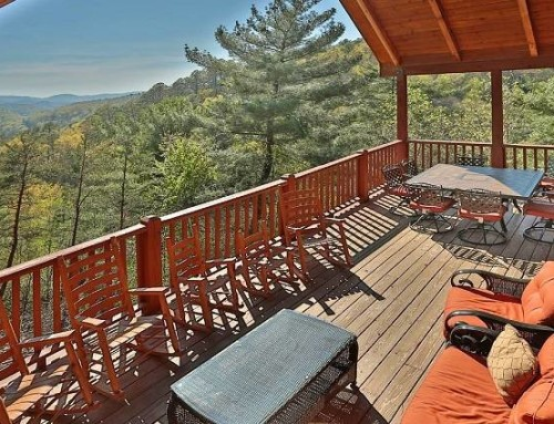 Heaven's View Cabin – 5 bedroom 3 bathroom/sleeps 16