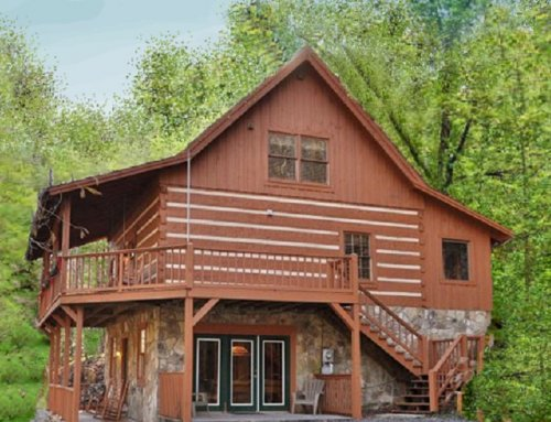 Black Bear Lodge Cabin – 4 bedroom 3 bathroom/sleeps 14